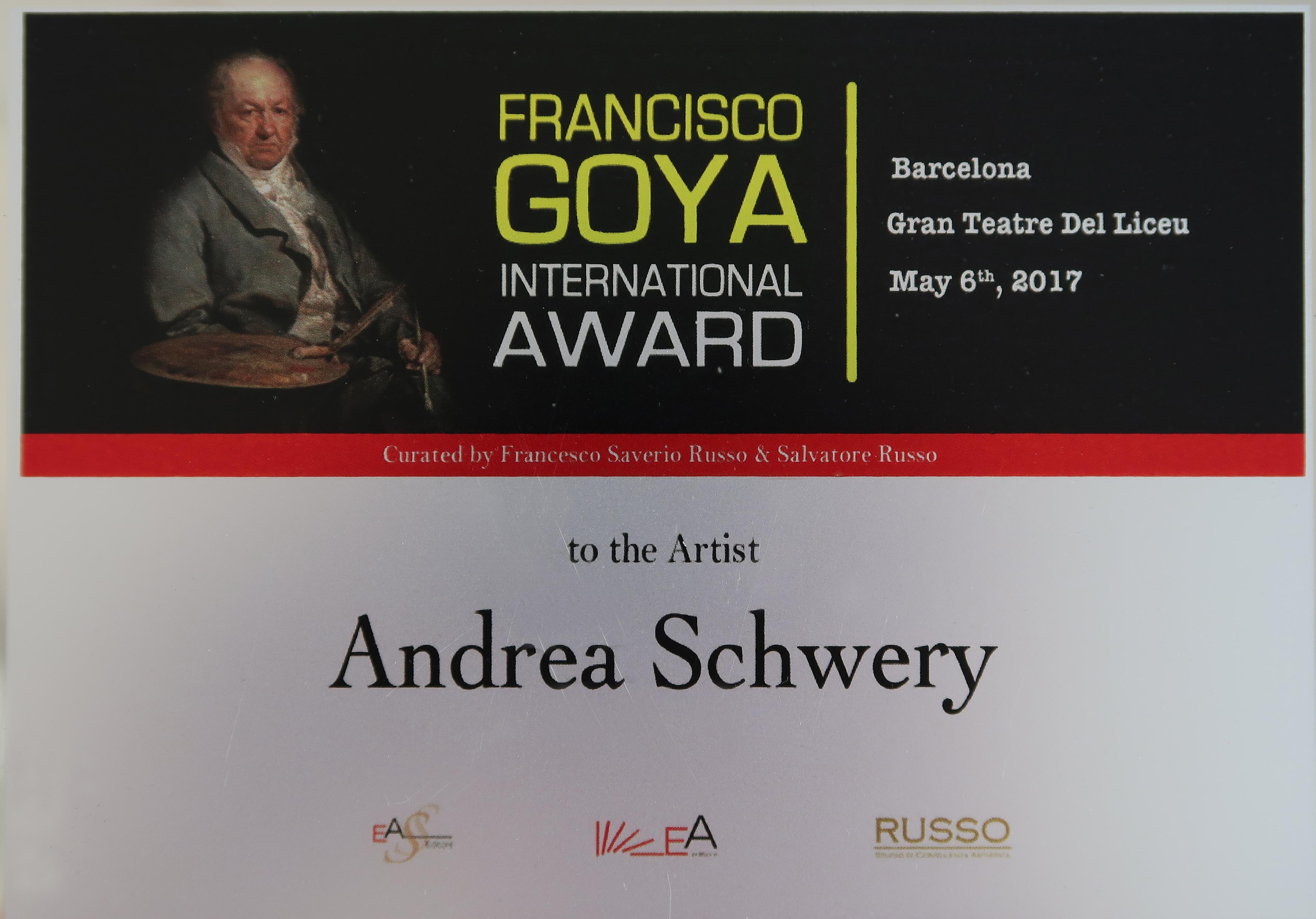 Goya-Preis Plakette