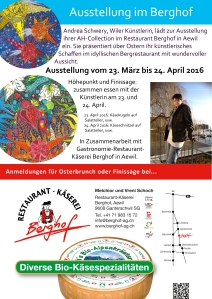 Ausstellung Berghof Aewil Rückseite