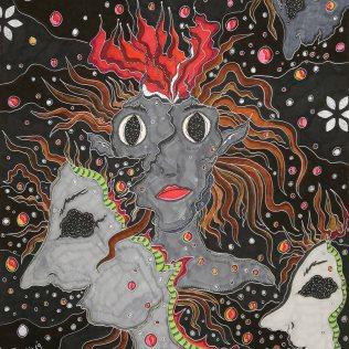 """""""Inneres"""", 40.6x50.8, diverse Profi-Künstlerstifte auf hochwertigem Papier, Preis auf Anfrage."""